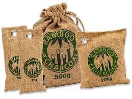 Natürlicher Bambus Lufterfrischer Mit Aktivkohle Wunderkissen