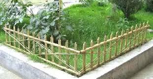 garden edging fence. Wrought Iron Garden Border Fence Modern Style Edging And Picket Bamboo