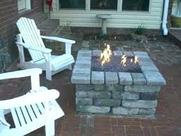 building a gas fire pit how to build outdoor gas fireplace build propane fire pit how