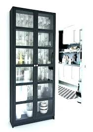 cherry bookcase with glass doors small bookcase with glass doors black bookcase bookcase with glass doors
