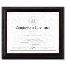 white certificate frame certificate frames wayfair