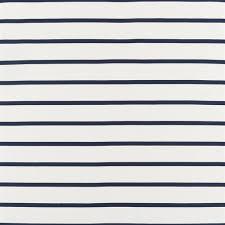 Basie Stripe <b>Riviera</b> Blue Fabric | <b>Ralph Lauren</b>