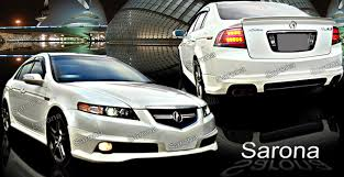 acura tlx 2008 custom. custom acura tl body kit sedan 2007 2008 89000 manufacturer sarona part ac019kt tlx a