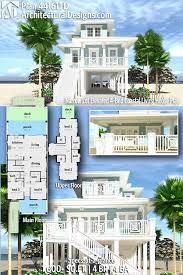 These home plans are pier built homes. Luxury Stilt House Plans Page 1 Line 17qq Com