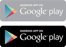google play logo png. android app on google play logo vector png a