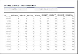 Workout Progress Charts Fittness Charts Magdalene Project Org