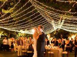 Outdoor wedding reception lighting ideas Romantic Wedding Ideas Terrific Outdoor Wedding Lights In Outside 21 New Lighting Idea