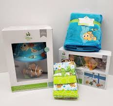 finding nemo 7 pc packet mobile blankets lamp w shade by disney baby