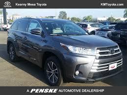 2018 New Toyota Highlander XLE V6 FWD at Kearny Mesa Toyota ...