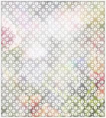 Myspotti Fensterfolie Myspotti Look Grafik Blumenmuster White 90