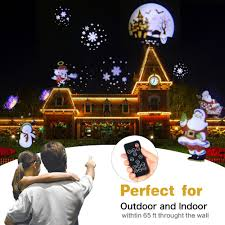 Christmas Animated Laser Light Us 29 01 25 Off Christmas Animated Christmas Projector Lamp Indoor Outdoor Halloween Projector 12 Patterns Snowflake Snowman Laser Light In Stage