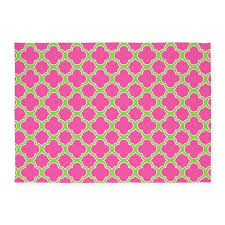 pink and green area rug stunning quatrefoil lime 5 x7 by cutetoboot decorating ideas 11