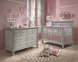 baby room furniture ideas. baby cribs and furniture belmont 2 piece nursery set in stone grey room ideas o