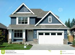 New House Download Blue House Home New Stock Photo Image Of Chilliwack Colors For Trim