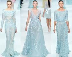 the color of wedding dress elie saab couture spring 2016 blue e1328076138473