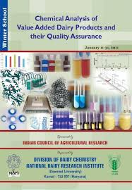 Chemical Analysis Of Value Added Dairy Products And Their