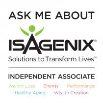 isagenix measurement tracker magnets and decals merchandise