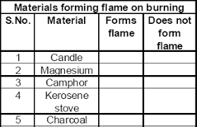 Cbse 8 Science Cbse Combustion And Flame Notes