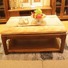 ash wood walnut color long wooden coffee table chinese tea table living room wood furniture chengdu