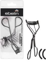 eyelash curler. ebelin eyelash curler incl. 2 spare gums, 1 pc