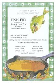 Fish Fry Invitation Fried Fish Fish Fry Party Fries