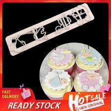 Khuôn Làm Bánh Kẹo Hình Xe Đẩy Em Bé Đáng Yêu