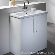 designer freestanding 700mm white bathroom vanity unit main image milan double oak free standing bathroom vanity unit best