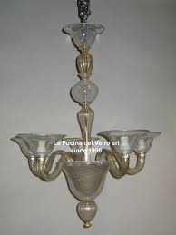 modern filigree contemporary murano glass chandelier