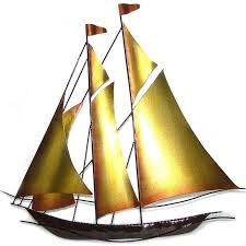 metal wall art sail boat yacht on yacht metal wall art with 28 best nautical wall art images on pinterest metal wall art