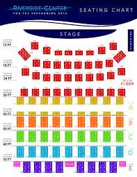 Four States Fair Entertainment Center Seating Chart Seating Chart Riverside Center For The Performing Arts