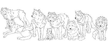 Coloring Pages Of Wolves Alex Photo