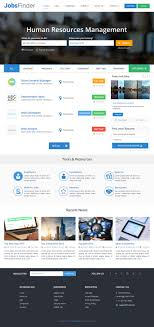 design a website mockup for a job search engine lancer 64 for design a website mockup for a job search engine by templatedigitale