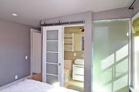 interior barn doors contemporary frosted glass barn. Creative Of Frosted Glass Barn Doors With Interior Contemporary Image