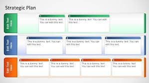Strategic Plan Template Basic Strategic Plan Template For PowerPoint SlideModel 12