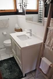 beadboard in bathroom how to install