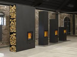 Modern Wood Burner Fireplace Designs Decorative Ideas Behind A Modern Wood Stove Bob Doyle Home