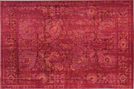 pink and orange rug expressions pink orange mid century rug pink area rugs abode company pink and orange rug