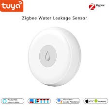 Tuya <b>Smart</b> home Zigbee Water leak Detector sensor, Alarm notice ...