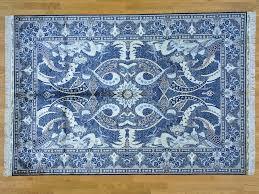 strange 3x5 oriental rug 3 x 5 blue designs