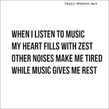 Best Music Quotes Magnificent Inspirational Music Quotes And Sayings Happy Wishes