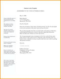 Basic Business Letters Email Format For Business Communication Fujibell Com