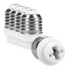 5x Lamp Socket Adapter E27 To G9 Plug Bulb Converter For Sale Online