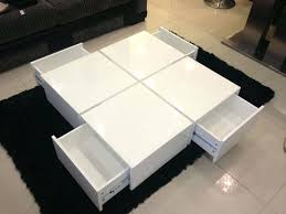 full size of mcintosh high gloss coffee table with storage white square thippo white gloss side