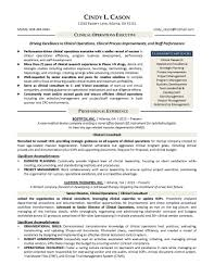 Clinical Project Manager Sample Resume Clinical Program Manager ...