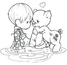 free precious moments coloring pages. Unique Coloring Free Precious Moments Coloring Pages Sheets  Animals Printable Wedding  To C