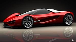 Here you can find the best black ferrari wallpapers uploaded by our. Ferrari Red Concept Sport Car Hd Wallpaper Really Cool Ferrari Cars 1366x768 Wallpaper Teahub Io