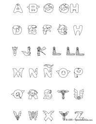 Halloween Letters Coloring Pages 11 Printables Letters For Kids