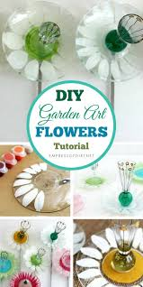how to make pickle dish garden art flowers