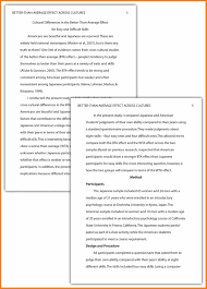 awesome collection of research paper outline example apa style   ideas collection example of apa format essay apamethods how to write apa format unique examples of