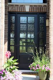 black single front doors. Brilliant Single This Beautiful Black Front Door Is Better Then A Fiberglass Door It  Charming Classic French Style With Twist Woou2026 On Single Doors I